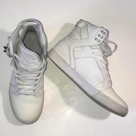 Supra Shoes | Muska 001 White Sneakers